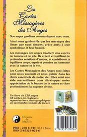Les Cartes Messageres Des Anges - 4ème de couverture - Format classique