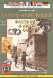 Sainte mere eglise - les paras us 6 juin 44 - Couverture - Format classique