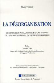La désorganisation - Intérieur - Format classique