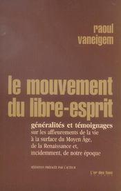 Le Mouvement Du Libre Esprit - Intérieur - Format classique
