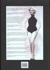 Marilyn Monroe - 4ème de couverture - Format classique