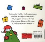 Monsieur Noël - 4ème de couverture - Format classique