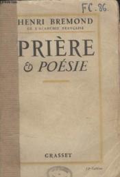 Priere Et Poesie. - Couverture - Format classique
