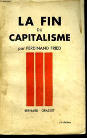 La Fin Du Capitalisme. - Couverture - Format classique