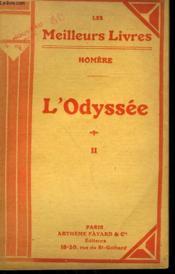 L'Odyssee Tome 2. Collection : Les Meilleurs Livres N°65. - Couverture - Format classique