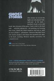 Ghost stories niveau: 5 - 4ème de couverture - Format classique