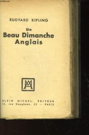 Un Beau Dimanche Anglais - Couverture - Format classique