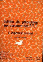 Bulletins De Preparation Aux Concours P.T.T N°5 - Couverture - Format classique