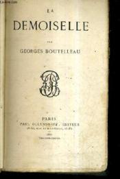 La Demoiselle. - Couverture - Format classique
