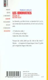 Idiomatics Francais-Anglais (Les) - 4ème de couverture - Format classique