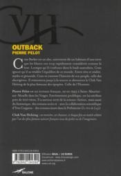 Outback - 4ème de couverture - Format classique