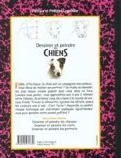Dessiner et peindre les chiens - Couverture - Format classique