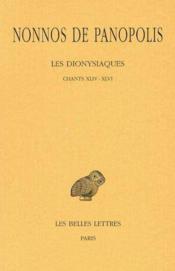 Dionysiaques t16 chants 44-46 - Couverture - Format classique