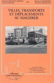 Villes, transports et déplacements au maghreb - Intérieur - Format classique