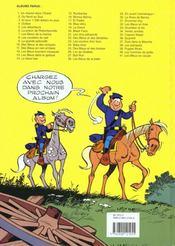 Les tuniques bleues t.36 ; Quantrill - 4ème de couverture - Format classique