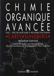 Chimie organique avancee volume 1 - Intérieur - Format classique