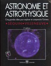 Astronomie et astrophysique - Intérieur - Format classique