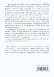 Personnages De L'Affaire Abelard - 4ème de couverture - Format classique