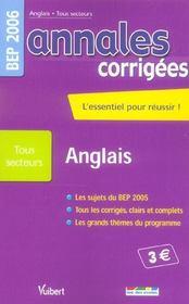 Annales Corrigees T.26 (édition 2006) - Intérieur - Format classique