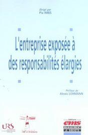 L'entreprise exposee a des responsabilites elargies - Intérieur - Format classique