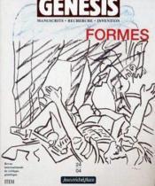 Genesis N.24 ; Formes - Couverture - Format classique