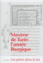 L'année liturgique - Couverture - Format classique