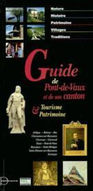 Guide de Pont-de-Vaux et de son canton - Couverture - Format classique