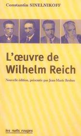 L'oeuvre de wilhelm reich - Intérieur - Format classique