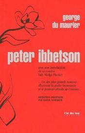 Peter Ibbetson - Couverture - Format classique