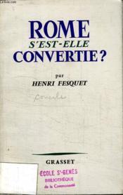 Rome S Est Elle Convertie? - Couverture - Format classique
