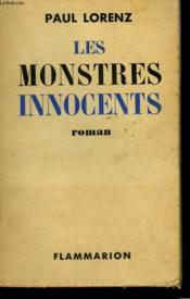 Les Monstres Innocents. - Couverture - Format classique