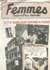 Femmes Aujourd'Hui, Demain - N° 15 - 3° Trimestre - Il Y A Quelque Chose A Faire ! - Couverture - Format classique