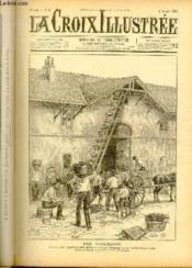 LA CROIX ILLUSTREE N° 41 - Deuxième année - Les vendanges - Couverture - Format classique