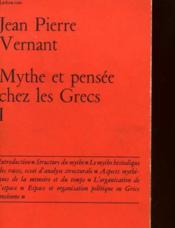 Mythe Et Pensee Chez Les Grecs - 2 Volumes - Etudes De Psychologie Historique - Couverture - Format classique
