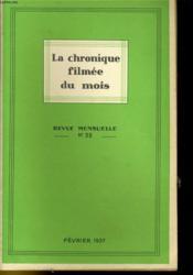 La Chronique Filmee Du Mois N°35 - Couverture - Format classique