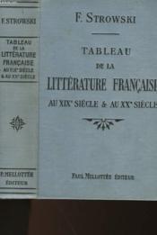 Tableau De La Litterature Francaise - Au Xix° Siecle Et Au Xx° Siecle - Couverture - Format classique