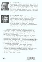 Raffarin De Matignon ; Guide Modique Modeste Et Modere De La France D'En-Bas - 4ème de couverture - Format classique