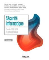 Sécurité informatique (5e édition) - Couverture - Format classique