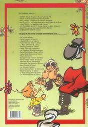Recueil Spirou - 4ème de couverture - Format classique