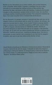 La Decouverte Des Alpes Et La Question Du Paysage - 4ème de couverture - Format classique