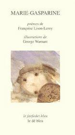 Marie-Gasparine - Couverture - Format classique