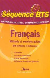 Sequence Bts ; Tertiaires Et Industrirels - Intérieur - Format classique