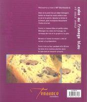 Cakes Sales Et Sucres - 4ème de couverture - Format classique