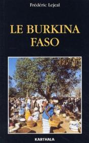 Le Burkina Faso - Couverture - Format classique
