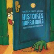 Histoires horrifiques livre et cd inclus - Couverture - Format classique