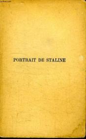 Portrait De Staline. - Couverture - Format classique
