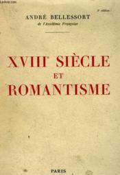 XVIIIe SIECLE ET ROMANTISME. - Couverture - Format classique