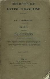 Oeuvres Completes. Tome Seizieme. Discours Pour M. Claudius Marcellus. - Couverture - Format classique