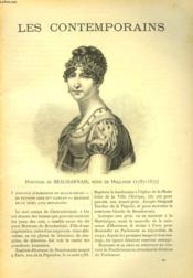 Les Contemporains N°596. Hortense De Beauharnais, Reine De Hollande (1783-1837). - Couverture - Format classique