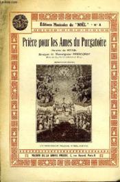 Priere Pour Les Ames Du Purgatoire - Couverture - Format classique